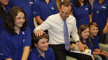 Tony Abbott takes on parental leave.