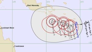Tropical Cyclone Ita ...