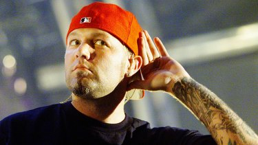 'We lost a human being named Jessie': Limp Bizkit's Fred Durst (pictured in 2001).