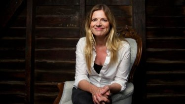 Julia Zemiro who co-hosts the  Eurovision Song Contest for SBS.
