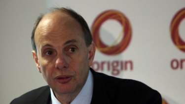 Pleased with progress: Origin Energy managing director Grant King.
