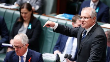 Prime Minister Malcolm Turnbull and Treasurer Scott Morrison want a phased reduction in the company tax rate.