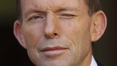 Prime Minster Tony Abbott.