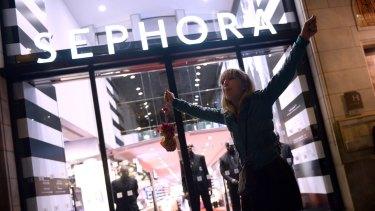 Sephora's store in Sydney.