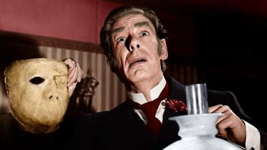 High regard ... Michael Gough was also an accomplished stage actor.