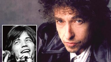 Bob Dylan was the first songwriter to use lyrics as a weapon, says Robert Forster, but he didn't imagine Mick Jagger (inset) was sitting around reading Donne.