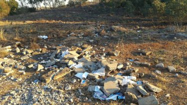 Medical records found in Isabella Williams Memorial Reserve in Sunshine.