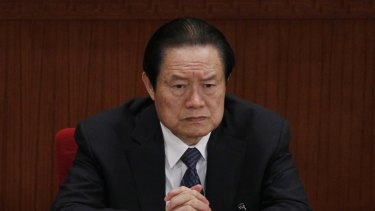 Zhou Yongkang, pictured here in 2012, is the highest-profile casualty of President Xi Jinping's anti-corruption drive.