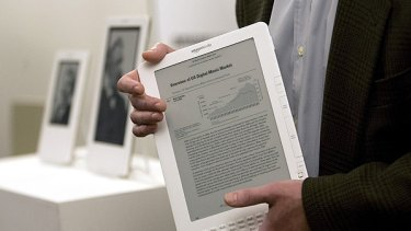 The Kindle DX.