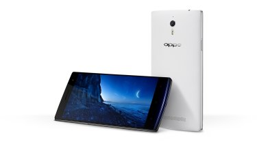 The Oppo Find 7.