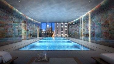One Madison's luxury pool complex.