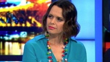 Controversial comments: Mia Freedman.