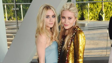 Acting out ... Ashley (left) and Mary-Kate Olsen.