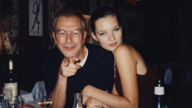 The Last Impresario: Michael White and Kate Moss.