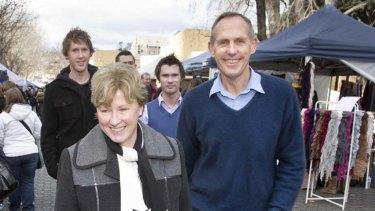 Lines drawn in climate talks ... Greens senator, Christine Milne, and Greens leader, Bob Brown.