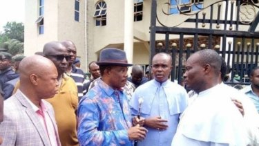 Anambra State Governor Willie Obiano said the attack stemmed from a feud between members of the local community who were living outside Nigeria.