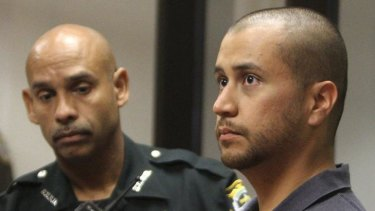 Zimmerman (right) has been charged with killing Trayvon Martin.