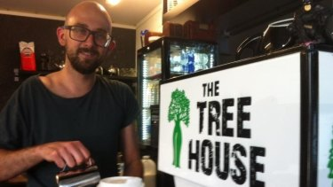Dale Wood from the Treehouse Cafe.