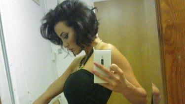 Attacked: Sophia Cahill.