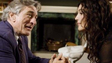 Robert De Niro and Monica Bellucci in Ages of Love.