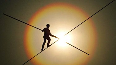 Balancing act...investors are advised that a diverse portfolio is important to achieve an adequate income in retirement.
