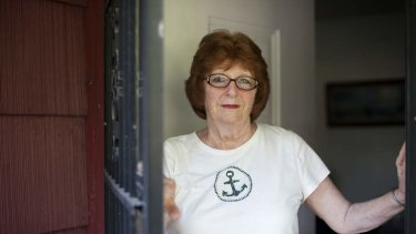Mary Feron, a longtime neighbor of James and JoAnn Nichols, in Poughkeepsie, New York, July 8, 2013.