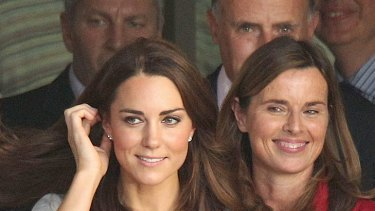 Pressure ... Kate Middleton's mannerisms reveal her need for greater control.