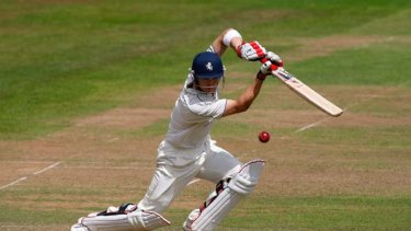 Forgotten man ... Joe Denly in action for Kent.