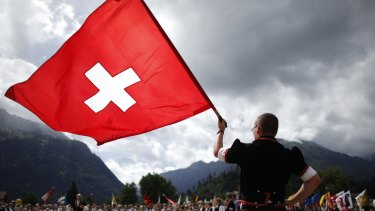 Switzerland stayed at the top of the index, followed by Hong Kong. Photo: Reuters