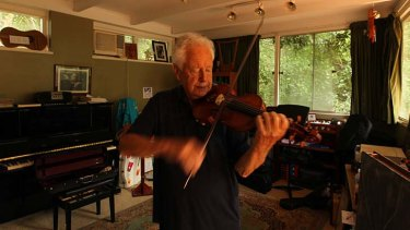 A man and his 300-year-old violin will meet again for a
