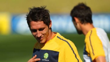 Mark Milligan will find out on Tuesday if he makes the Socceroos' 23-man squad.