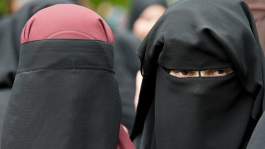 Wearing a burqa or other full-face covering such as a ski mask in public can attract a $225 fine in Austria.