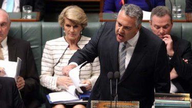 Watch this space: Treasurer Joe Hockey's first budget will be delivered in two weeks.