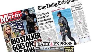 Nigella Lawson's beach attire created headlines.