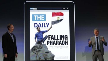 Playing by Apple's rules ... Rupert Murdoch's The Daily.