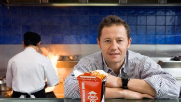Noodle Box founder Dave Milne is planning an ambitious expansion.