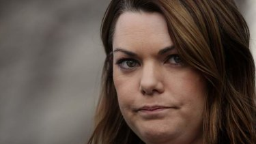 Fighter: Sarah Hanson-Young.
