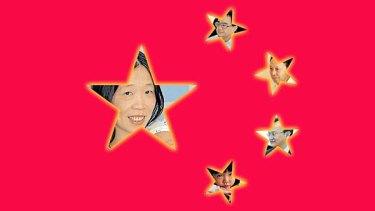Charlotte's Web: (clockwise from left) Charlotte Chou, Zhu Hanbang, Chen Youxi, Lin Yongping and Lincoln Chou.