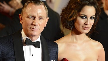 More black tie events to come? ... Daniel Craig and Berenice Marlohe at the <i>Skyfall</i> premiere in London.