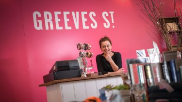 Andie Patchett, the driving force behind Greeves St. Recycled.