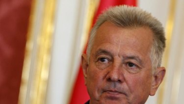 Hungarian President Pal Schmitt has been stripped of his doctorate because of plagiarism. He has denied any wrondoing and said he would not resign.