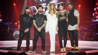 Ricky Martin returns to The Voice Australia for its 2015 season, alongside Delta Goodrem, Jessie J and Joel and Benji Madden.