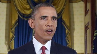 US President Barack Obama vows to target ISIL.