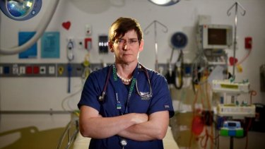 Dr Diana Egerton-Warburton, who is an emergency physician at the Monash Medical Centre, has spoken about alcohol-fuelled violence by patients at the hospital.