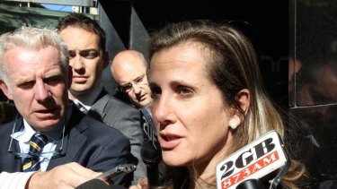 """""""Very unhappy"""" ... Kathy Jackson's request for the union to pick her legal fees was rebuffed."""