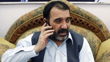 Assassinated ... Ahmad Wali Karzai, a half-brother of the Afghan President, Hamid Karzai, in Kandahar.