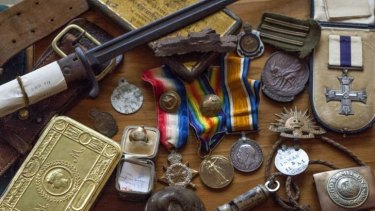 Then & Now: memorabilia of the Gallipoli campaign.