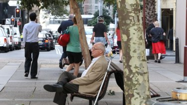 Roger Rogerson in Sydney at the time of the Jim Byrnes case in 2013.