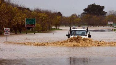 Residents in Traralgon were forced to evacuate as wild weather brought high winds and record downpours. The State Emergency Service says the focus is now shifting to towns including Tinamba and Newry.