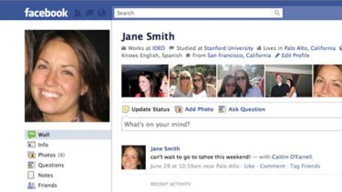 See what your profile looks like from someone else's account.